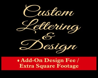 Custom Lettering and Design
