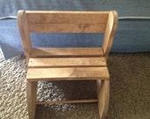 Toddler seat/step stool