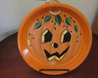 Vintage Pumpkin Face
