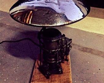 Re purposed Vintage carburetor light