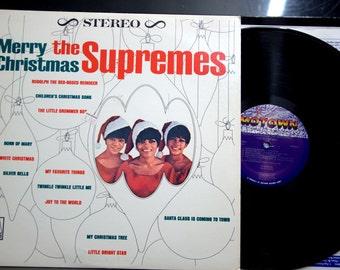 R&B, Soul LP - Supremes - Merry Christmas, Motown