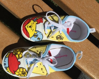 Pooh bear shoes