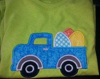 Easter pickup truck