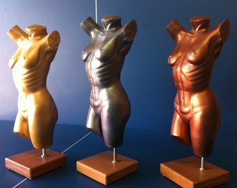 Female form sculpture called 'I Wish'