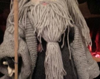 Gandalf Knitted Doll