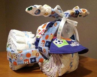 Diaper 3 Wheel Motorcycle