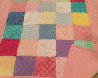 Patchwork girl quilt