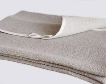 Linen throw blanket, Baby blanket summer, Linen coverlet, Rustic baby quilts, Crib blanket, Crib quilt, Linen bed throw, Linen bed cover