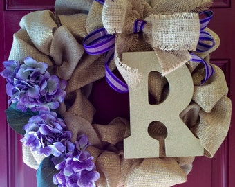 Family Name Wreath