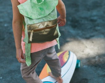 babygotbback - toddler backpack - pass the lime