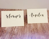 place card calligraphy wedding place card calligraphy wedding escort cards custom place card calligraphy services wedding reception