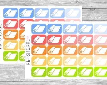 25 Yoga Mat Stickers
