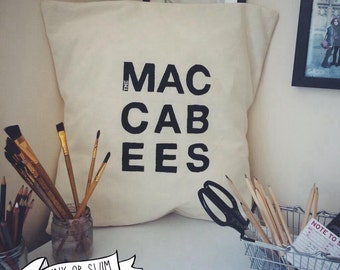 The Maccabees Logo cushion cover 50x50cm