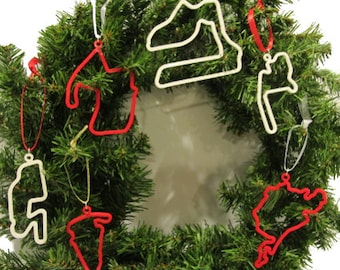 Race Track Ornaments