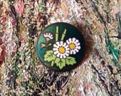 Vintage Cloisonne Button....