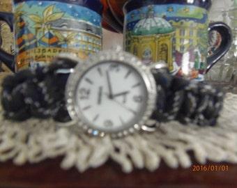 Handmade battery operated watch