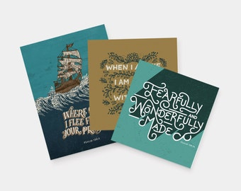 Psalm 139 Bundle (3 Prints)