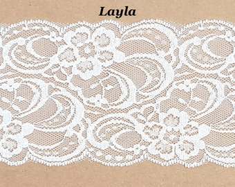 Bouquet Add-On: 'Layla' Lace Wrap