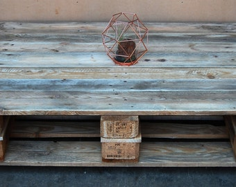 Low Pallet Coffee table