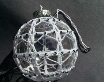 Crochet handmade ornament