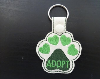 Adopt Key Fobs - Dogs