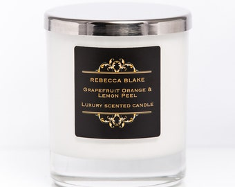 Grapefruit Orange & Lemon Peel Soy Candle