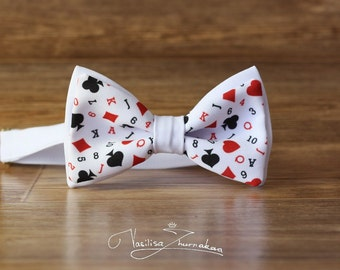 poker playing cards Bow tie - Bowtie