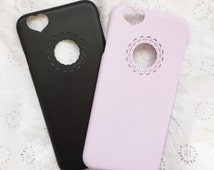 NEW 2015 Black iphone 6 hard case Cute and girly super popular in japan
