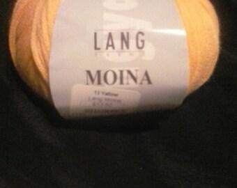 Lang Yarns Moina color: Yellow #839.0013