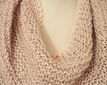 Pale Pink Shoulder Cozy / Capelet / Scarf