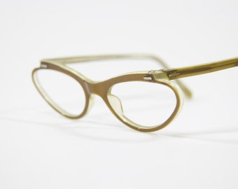 Vintage Rayber Cat Eye Glasses Frames- Very Cool and Rare! NOS