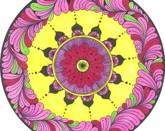 Pink Persia Mandala