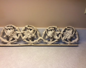 Vintage Cast Iron Porch Trim