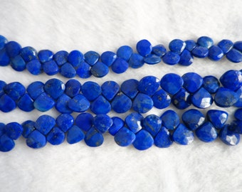Lapis Lazuli Faceted Heart