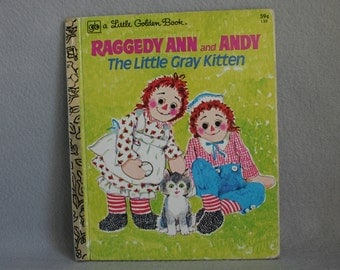 Raggedy Ann and Andy Golden Book