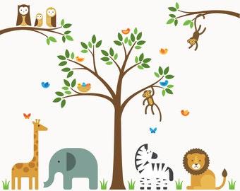 Jungle Nursery Decor, Nursery Decor, Nursery Wall Decor - Large