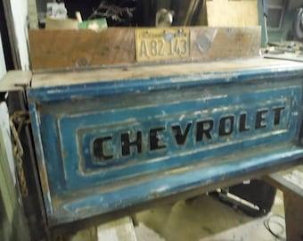 1956 Chevy Truck bed desk/bar