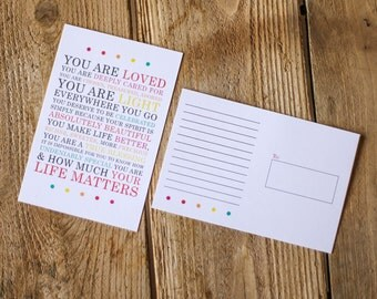 Your Life Matters Postcard Pack