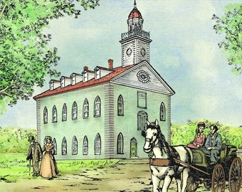 Kirtland Temple Greeting Cards