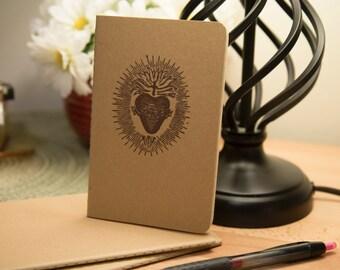 Mini Moleskine Journal, Sacred Heart