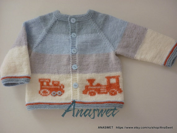 Knitting Baby Pattern Pattern Baby Crdigan Baby By Anaswet