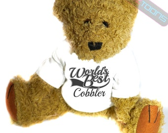 Cobbler Thank You Gift Teddy Bear