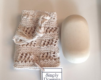 Knitted Soap Sack