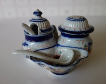 Victorian condiment set