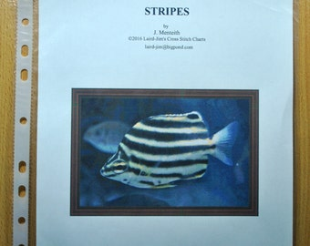 STRIPES Cross Stitch Chart