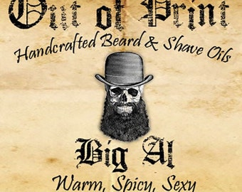 Big Al Handcrafted Beard & Shave Oil