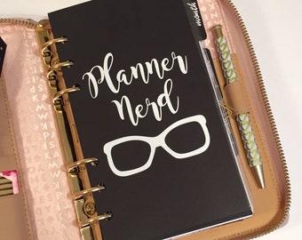 Personal Black Divider - Planner Nerd
