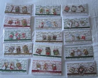 15 handmade Christmas cards
