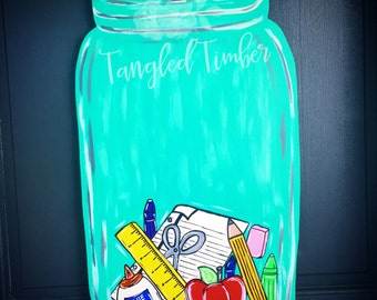 School Supply Jar