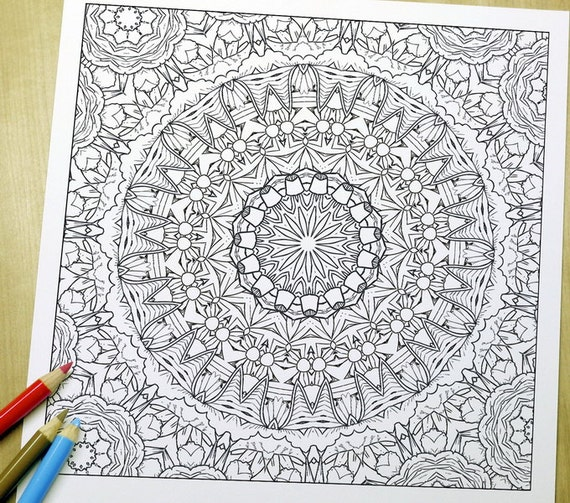 elegant printable adult coloring pages - photo#39